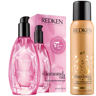 Redken Diamond oil blow dry